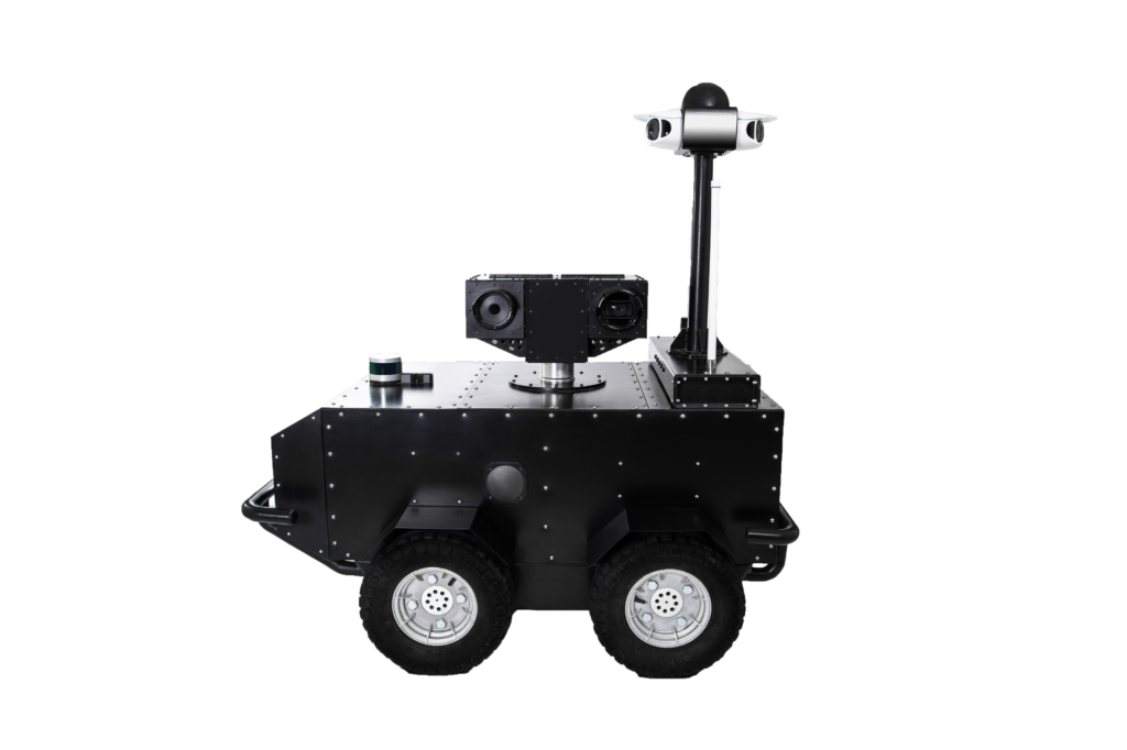 Autonomous mobile security robot Pguard Overview